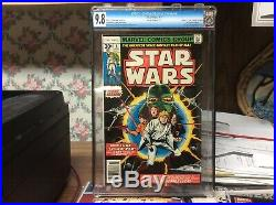 Marvel Comics STAR WARS #1 BCC 9.8 WHITE PAGES NM/MT 1977 1st Print Not Cgc