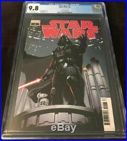 Marvel Comics STAR WARS #1 CGC 9.8 ASRAR VARIANT COVER 150 DARTH VADER