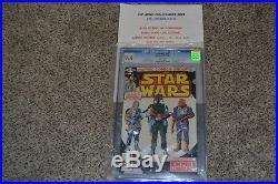 Marvel Comics, Star Wars #42, 1st Appearance of Boba Fett, 1980, CGC 9.4