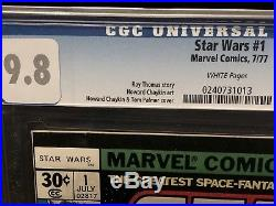 Marvel Star Wars # 1 CGC 9.8 1977 Highest Grade Perfect Collectible Xmas Gift