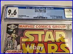 Marvel Star Wars #42 1980 CGC 9.6 1st app Boba Fett