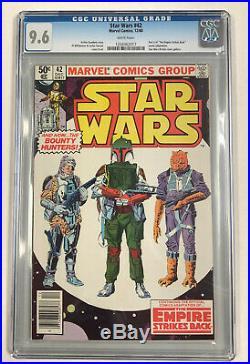 Marvel Star Wars #42 December 1980 CGC 9.6 12/80 Empire Strikes Back (BB MO)