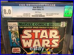 Marvel Star Wars CGC Lot! Issue 1 & 42 1st Issue/1st Boba Fett! Read Description