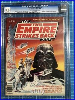 Marvel Super Special #16 Cgc 9.6 Empire Strikes 1st Boba Fett Old Label Cpr It