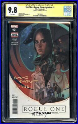 Rogue One #1 SS CGC 9.8 Alan Tudyk Signature Series Star Wars