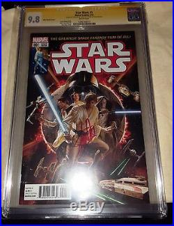 SALE Star Wars #1 Signature Signed Stan Lee 501 9.8 CGC 1st Day Issue Release