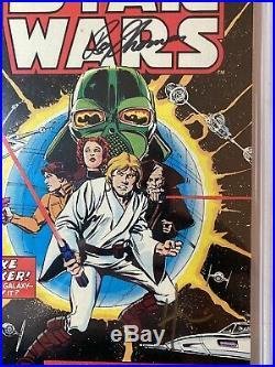 STAR WARS 1977 CGC 8.5 SS Howard Chaykin & Roy Thomas White Pages 1st Star Wars