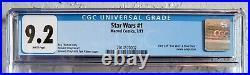 STAR WARS #1 (1977). CGC 9.2 NM- WHITE Pages 1st Luke 1st Leia 1st Vader MARVEL