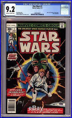 STAR WARS #1 (1977 Marvel) CGC 9.2 NM- A New Hope Part One first print