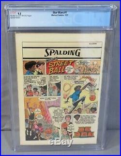 STAR WARS #1 (A New Hope movie adaptation) CGC 9.2 NM- Marvel Comics 1977