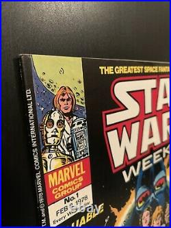 STAR WARS #1 CGC 9.4 Lot + Star Wars Weekly #1 NM with insert + Special Edition #1