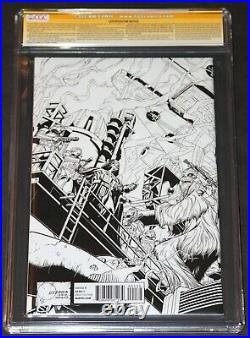 STAR WARS #1 CGC 9.8 SS Signed in GOLD by Stan LeeJoe Quesada B&W Variant 1500
