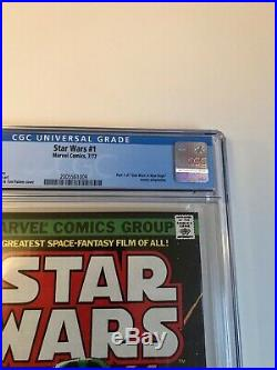 STAR WARS #1 Comic Book 1977- First Print WHITE PAGES 9.2 Just received from CGC