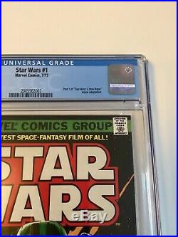 STAR WARS #1 Comic Book 1977- First Print WHITE PAGES 9.6 Just received from CGC
