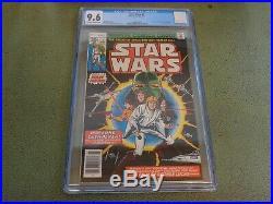 STAR WARS #1 Marvel Comics 1977 CGC 9.6 A New Hope Movie Adaptation