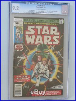 STAR WARS # 1 US MARVEL 1977 1st STAR WARS COMIC! Howard Chaykin NM 9.2 CGC