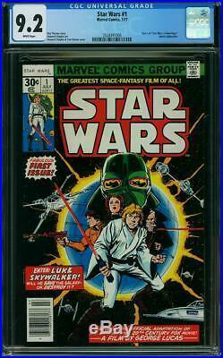 STAR WARS # 1 US MARVEL 1977 Howard Chaykin NM 9.2 CGC WHITE