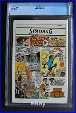 STAR WARS #2 1st Print 1977 Marvel 1st CHEWBACCA Death Star HAN SOLO CGC NM+ 9.6