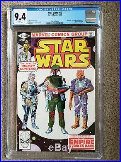 STAR WARS #42 9.4 CGC from Marvel Comics First Boba Fett