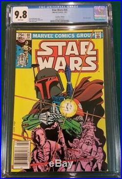 STAR WARS 68 Canadian Price variant CGC 9.8 HIGHEST GRADE only 5 in census