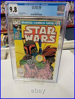 STAR WARS #68 (Marvel Comics, 1983) CGC Graded 9.8! BOBA FETT White Pages