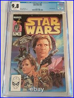 STAR WARS #81 (1984) CGC 9.8 RETURN OF BOBA FETT MARVEL Comics