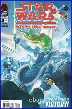 STAR WARS CLONE WARS 1 CGC 9.8 First Ahsoka Tano Mandalorian 1st Print 2 3 4 5-9