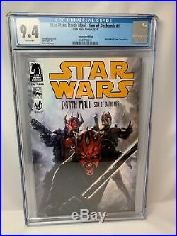 STAR WARS DARTH MAUL SON OF DATHOMIR #1 CGC 9.4 Rare Convention Edition