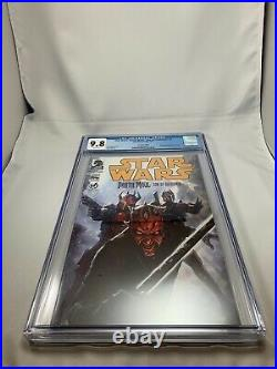 STAR WARS DARTH MAUL SON OF DATHOMIR #1 CGC 9.8 Rare Wizard World Edition