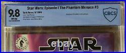 STAR WARS EPISODE I THE PHANTOM MENACE 3 OF 4 CBCS 9.8 CGC 1st DARTH MAUL COV