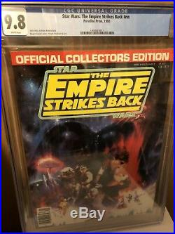 STAR WARS Empire Strikes Back Collectors Edition 1980 Only 4 Exist In 9.8 CGC
