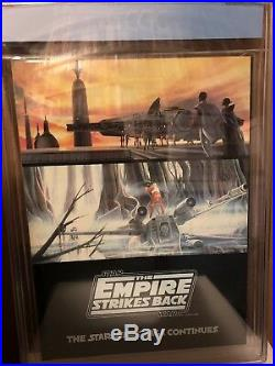 STAR WARS Empire Strikes Back Collectors Edition CGC 1980 8.5 WHITE Pages RARE