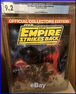 STAR WARS Empire Strikes Back Collectors Edition CGC 1980 9.2 WHITE Pages RARE