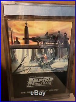 STAR WARS Empire Strikes Back Collectors Edition CGC 1980 9.4 WHITE Pages RARE