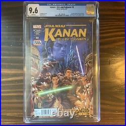 STAR WARS KANAN, THE LAST PADAWAN #1, (2015), 1st App. SABINE WREN, NM, CGC 9.6
