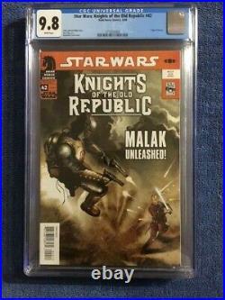 STAR WARS Knights of the Old Republic #42 CGC 9.8 NM/MT 1st Origin REVAN
