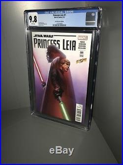 STAR WARS PRINCESS LEIA # 1 Alex Ross Variant Cover CGC 9.8 Marvel 2015