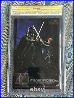 STAR WARS PRINCESS LEIA #1 CGC SS 9.8 CARRIE FISHER + 3x Signed VERY RARE