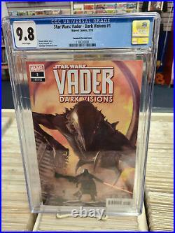 STAR WARS VADER Dark Visions #1 Camuncoli 150 Variant CGC Graded 9.8 WP