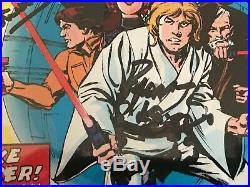 Signed STAR WARS #1 1977 CGC 6.0 by 4 Cast MCDIARMID, WILLIAMS, MAYHEW & DANIELS