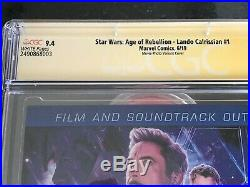 Signed STAR WARS AOR LANDO CALRISSIAN #1 CGC 9.4 by BILLY DEE WILLIAMS Variant