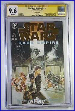 Signed Star Wars 1-6 Dark Empire Vol. I CGC SS 9.6/8 WP 1993 Gold Foil Edition