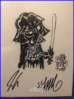 Skottie Young Original Art Sketch CGC 9.8 SS Star Wars Darth Vader Jason Aaron