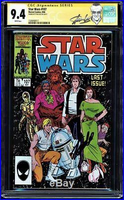 Star Wars #107 Cgc 9.4 Ss Stan Lee Signed Last Issue Gorgeous Copy #1508498017