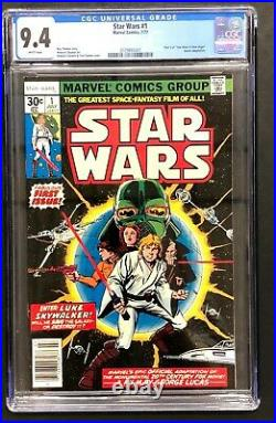 Star Wars (1977) #1 CGC 9.4 white pages (2079893001)