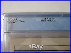 Star Wars 1977 #1 Marvel Comics Cgc Graded 8.0 Vf Free Shipping First Issue