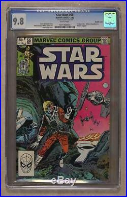 Star Wars (1977 Marvel) 66 CGC 9.8 Double Cover 1071492004