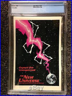 Star Wars (1986) #107 Cgc 9.6 Nm+ Rare Last Marvel Issue Whilce Portacio Art
