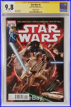 Star Wars 1 150 Alex Ross Variant CGC 9.8 Signature Series Jason Aaron Marvel