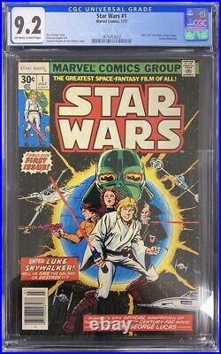 Star Wars #1 (1977) 1st Appearance of Star Wars Characters CGC 9.2